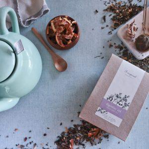 Digestive aid herbal tea