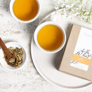 glow organic herbal tea