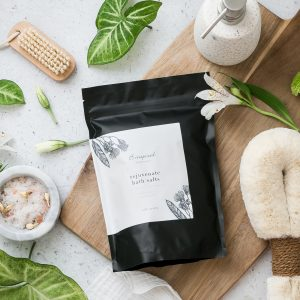 Epsom bath salts rejuvenate