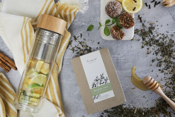 Breathe easy herbal tea