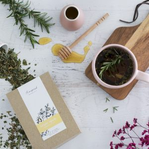 Bright spark herbal tea