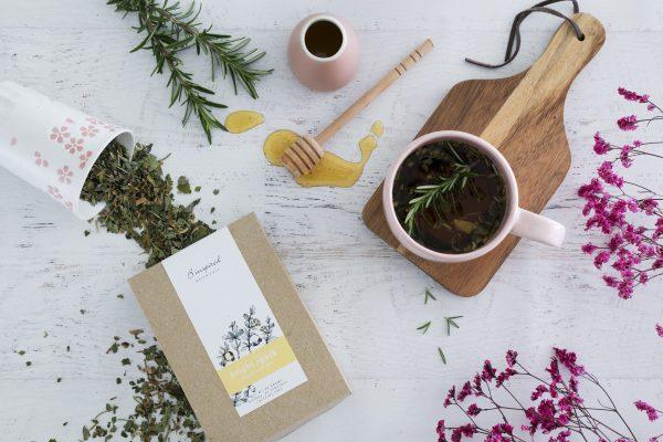 Bright spark herbal tea