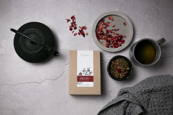 Gyspy fair organic herbal tea