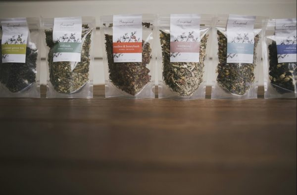 Sample sizes B inspired organic herbal teas