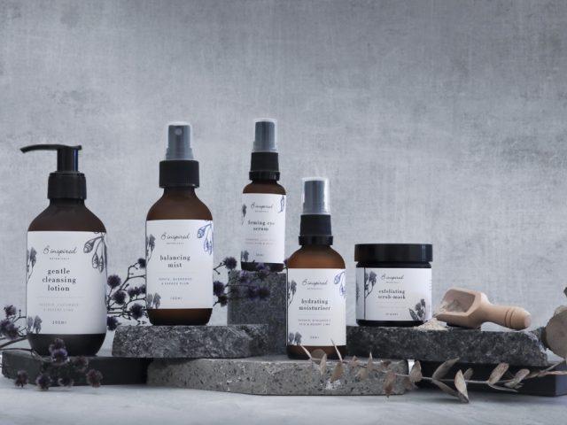 B inspired healthy lifestyle Botanicals skincare