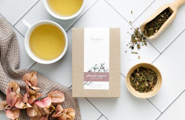 Adrenal support organic herbal tea.