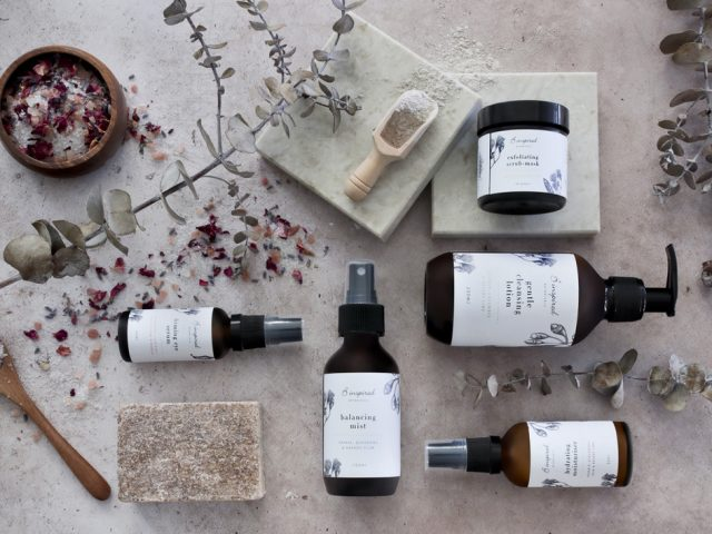 B inspired healthy lifestyle Botanicals skincare