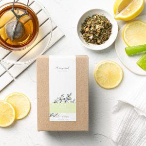 Detox organic herbal tea
