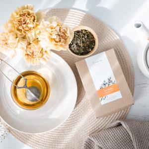 Hot flush organic herbal tea