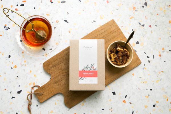 African sunset organic herbal tea